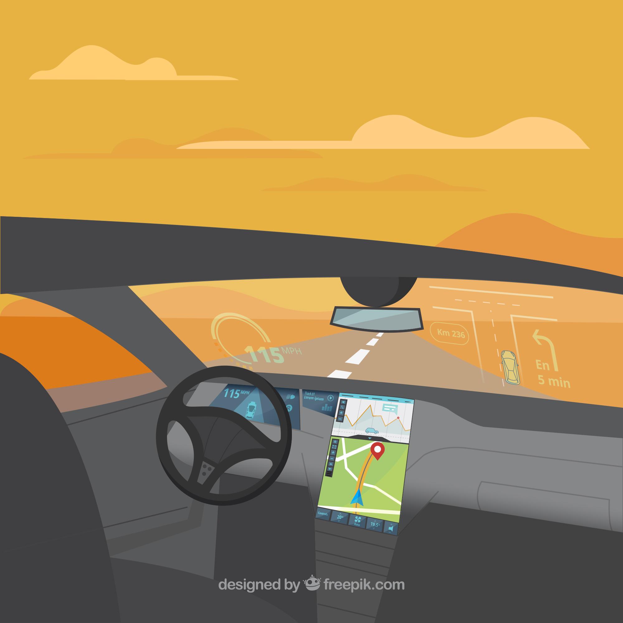 Flat Autonomous Car